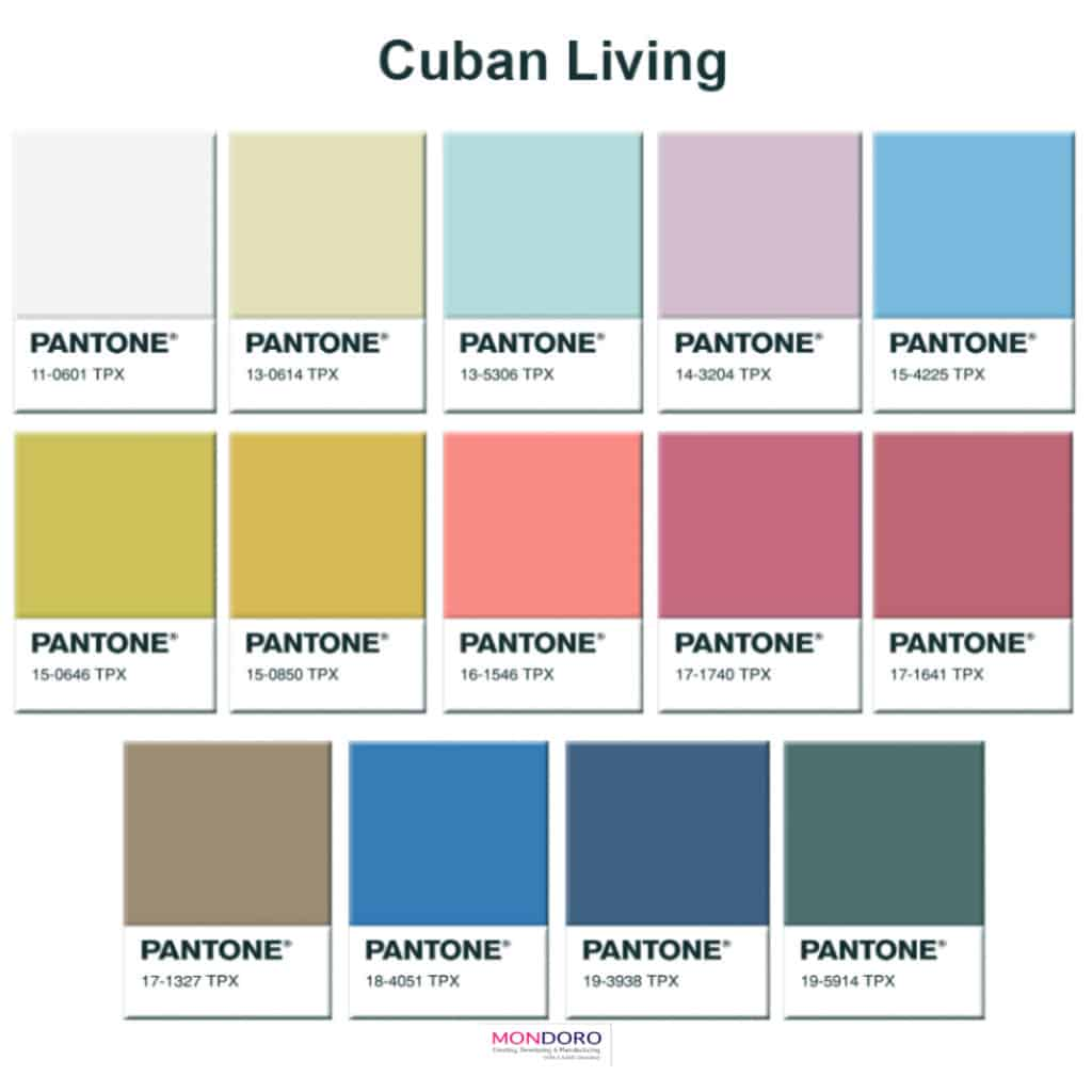Cuban Living Color Trends