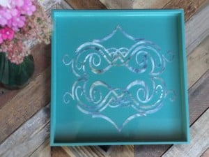 Inlay Mother of Pearl Tray