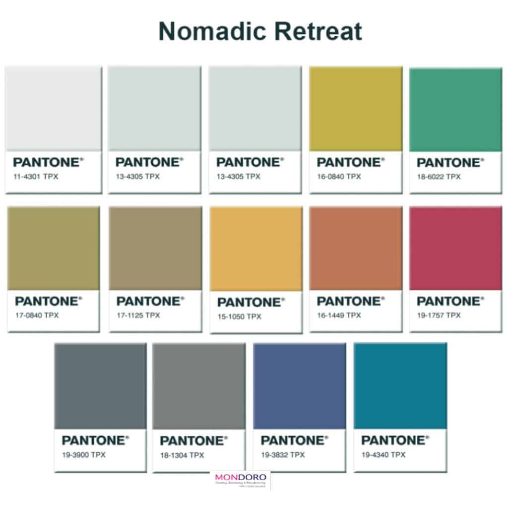 Nomadic Retreat Color Trends