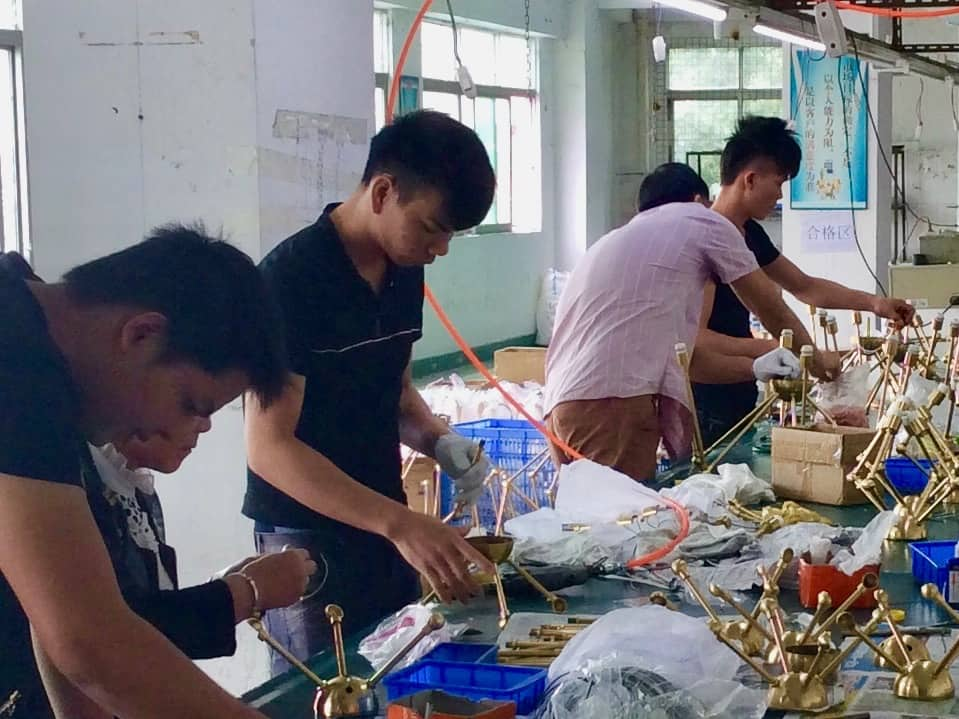 Chinese Factory Lighting Assembly