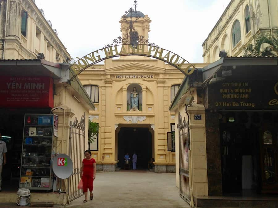 Old Catholic Church, Hanoi, Vietnam