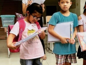 Helping Vietnam's Impoverished Elementary Schools with School Supplies