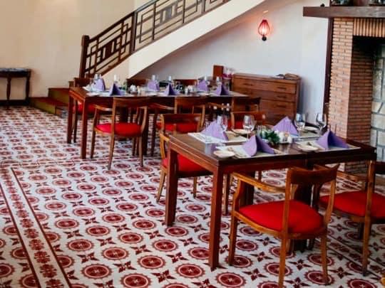 French Encaustic Tile Floor, Vietnam