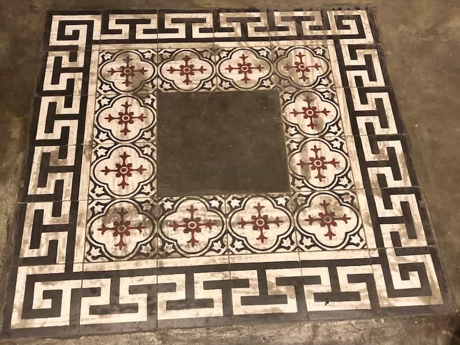 French encaustic tile designs