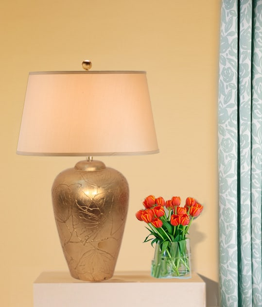 Gold Leaf Lamp base - Mondoro