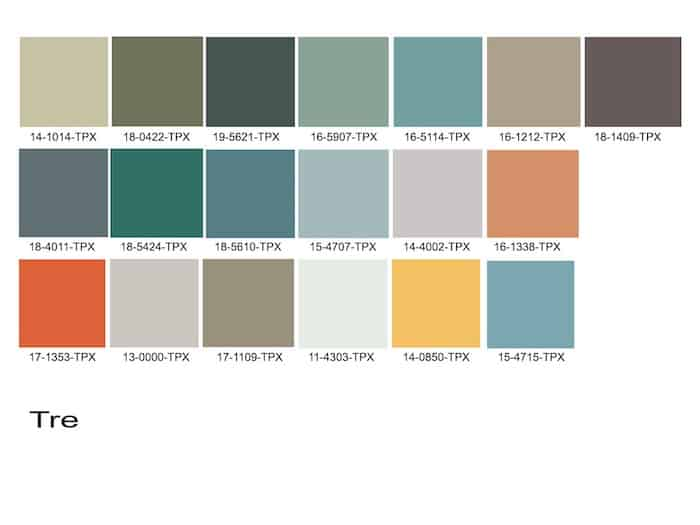 The Tre Natural Color Trend