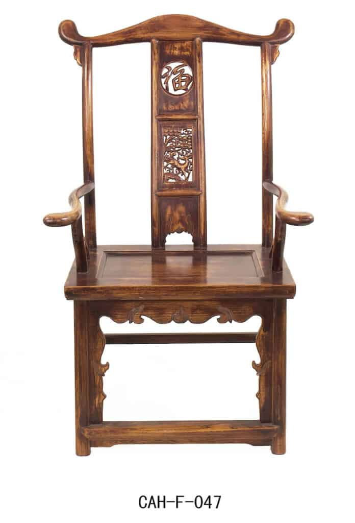 Example of an Antique Chinese Chair Construction