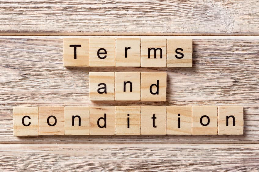 Terms and Conditions - Mondoro