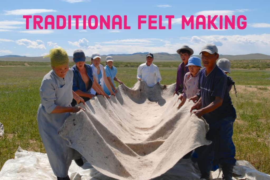 Traditional Felt Making