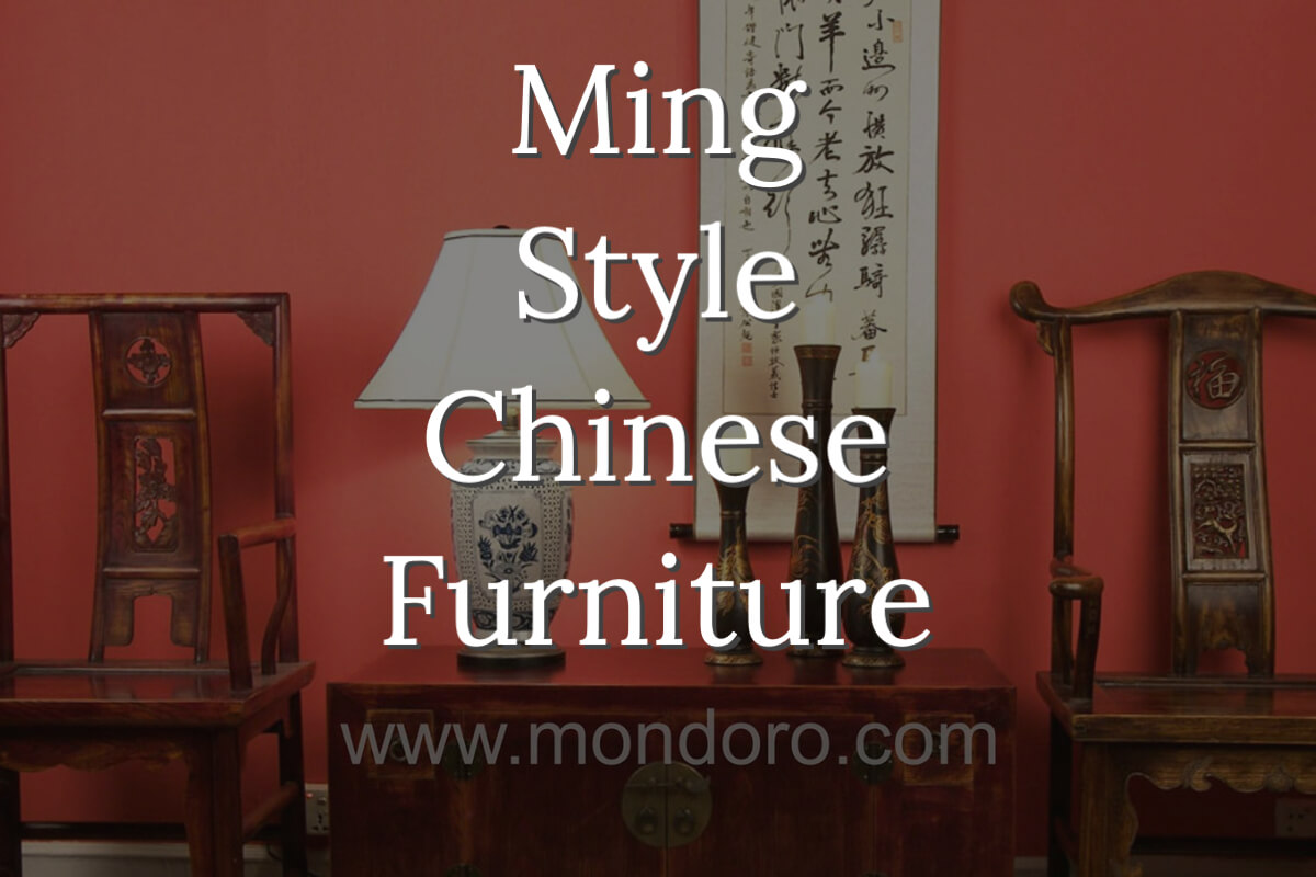 Ming Style Furniture